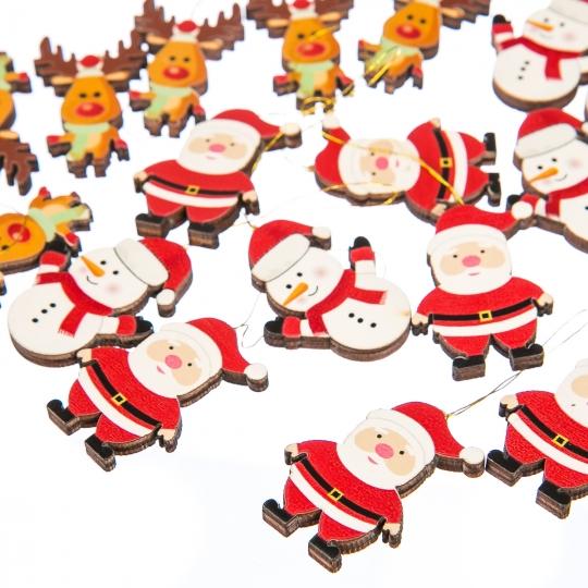 """Комплект елочных игрушек """"Новогодня компания"""", 18 шт (015NY)"""