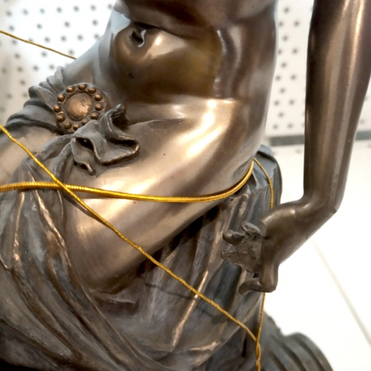 "Статуэтка ""Деметра"" (30 см), сломан палец (00BR-73245 A4/1)"