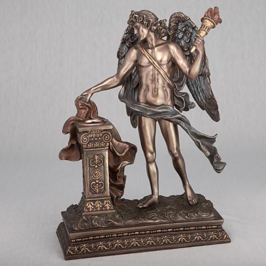 """Подсвечник """"Ангел с факелом"""" (26 см), повреждена нога (00BR-74515 A4)"""