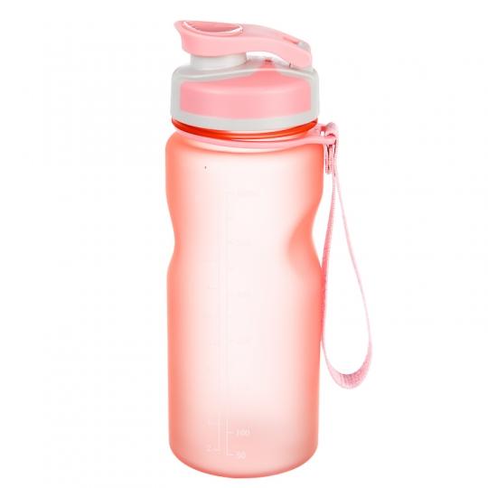 """Бутылка для спорта """"Романтика"""" (600мл) *рандомный выбор (032JH)"""