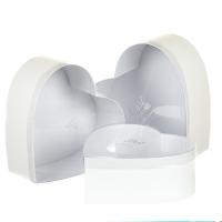 """Набор коробок """"Влюбленное сердце"""" (white)"""