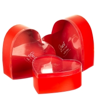 """Набор коробок """"Влюбленное сердце"""" (red)"""