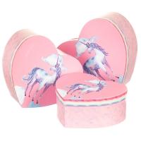 """Набор коробок """"Изящний единорог"""" (pink)"""