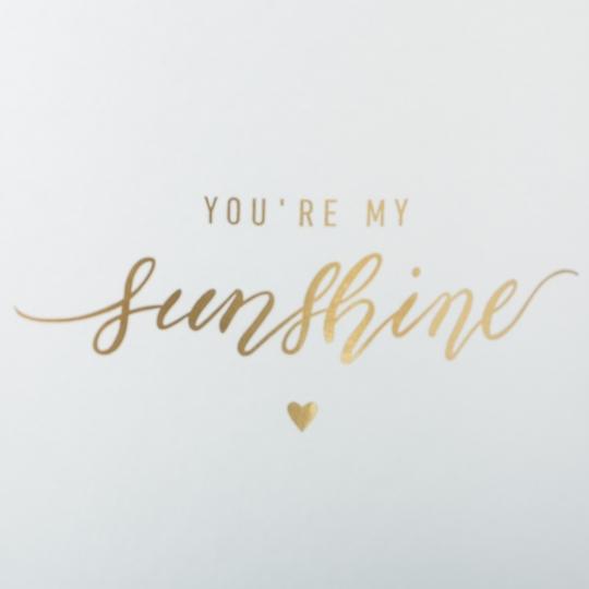 "Коробка для цветов набор 3 шт. "" You are my sunshine"" белые (0605J)"