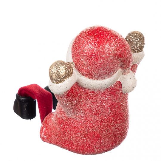 "Фигурка  ""Отдых снеговика"" (красный цвет) (007ND)"