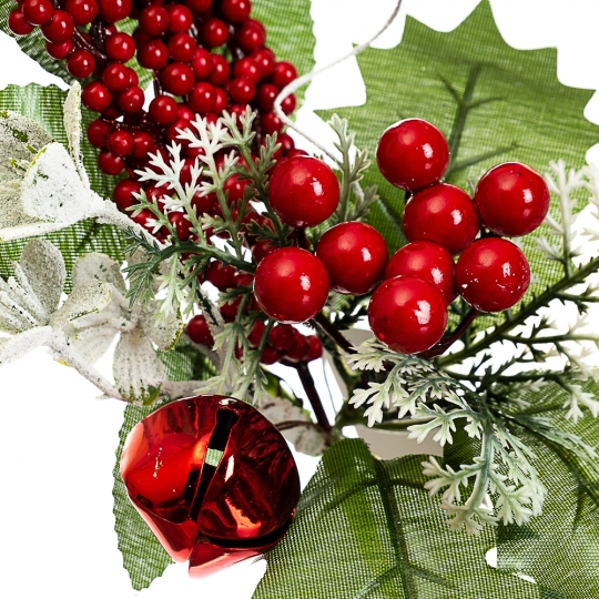 """Ветка """"Остролист с гроздью ягод"""" (033NM)"""