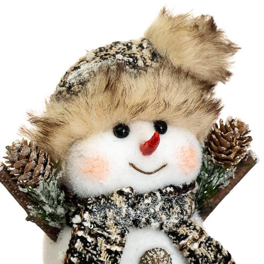 """Декор """"Снеговик маленький"""" (002NS)"""