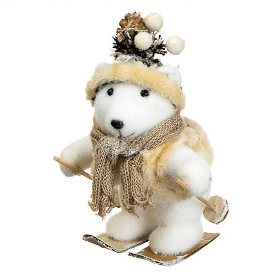 "Декор ""Медвежонок на лыжах"" (012NS)"