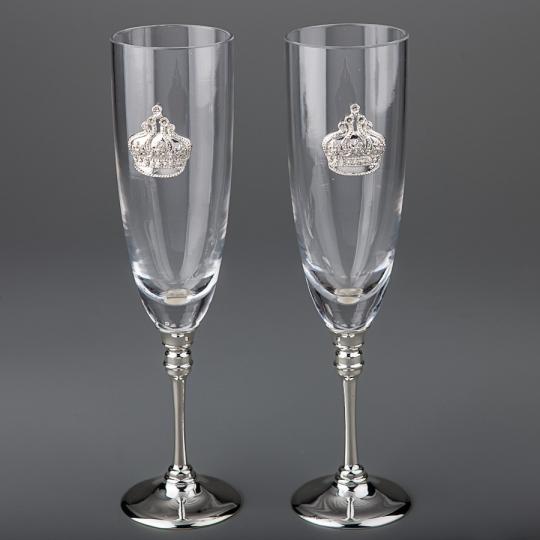 Хрустальные бокалы (8212H-2PC)