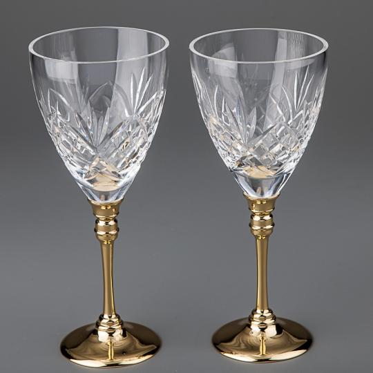 Хрустальные бокалы (8214H-2G)