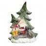 """Статуэтка """"Дед мороз с ёлкой"""" (большой размер) (005NQ)"""