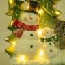 """Статуэтка """"Снеговик с ёлкой"""" (большой размер) (006NQ)"""