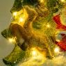 "Статуэтка ""Дед Мороз на санях"" (большой размер) (007NQ)"