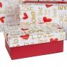 "Набор коробок ""Влюбленность"" 10 шт (2варианта) (8301-001)"