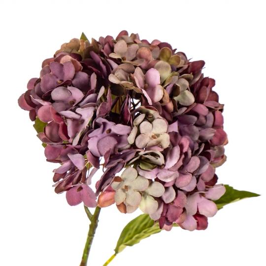 """Цветок искусственный """"Гортензия лиловая"""" (8100-028)"""