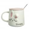 """Кружка """"Кролик"""" 350 мл. *рандомный выбор дизайна (8515-005)"""