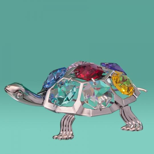Черепаха (маленькая, серебро) (0035-001 SL)