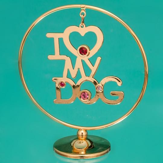 """Кольцо """"Моя собака"""" (0439-105/GA)"""