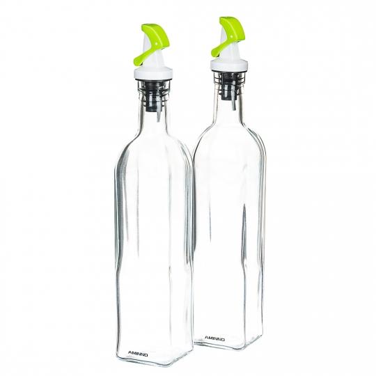 Набор бутылок с дозатором (550мл) (0112J)
