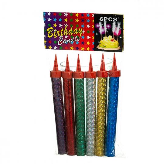 Свеча-фейерверк 15 см (8505-005)