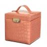 """Шкатулка для украшений """"Персиковый куб"""" (0505-001/pink)"""