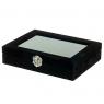 Шкатулка для украшений  Черный (0505-006/black)
