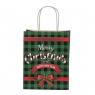 """Пакет """"Merry Christmas"""" 23*18*10 см (8208-015)"""