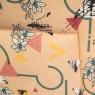 """Подушка для стула """"Цветочная абстракция"""" (8019-012)"""