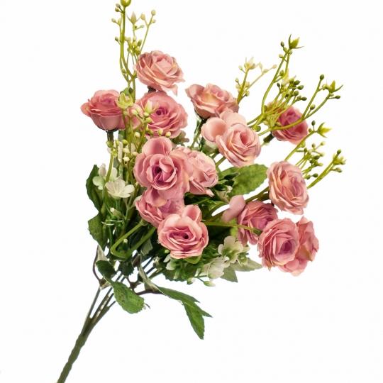 """Цветочный букет """"Малиновый"""" (8023-008/pink)"""