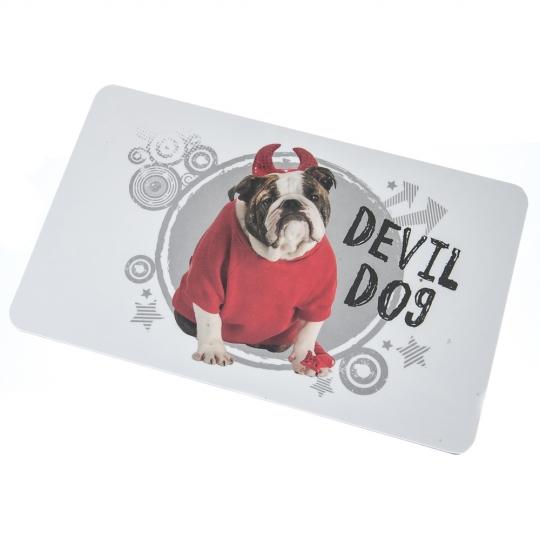 "Доска для нарезки ""Devil Dog"" (004TT)"