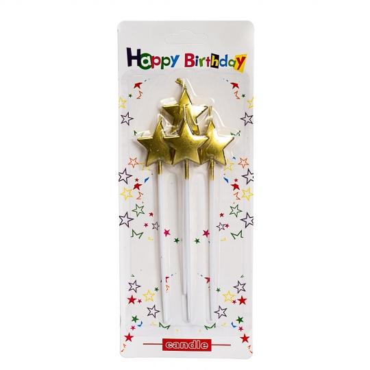 "Свечи для торта ""Звездочки"" (8512-001)"