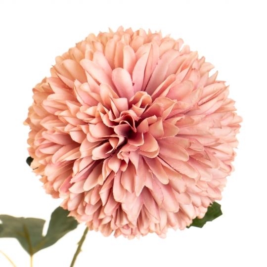"""Цветок """"Хризантема персиковая"""" (2002-003/DARKPINK)"""