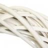 """Венок из лозы """"Универсальный"""" белый 30 см (5002-003)"""