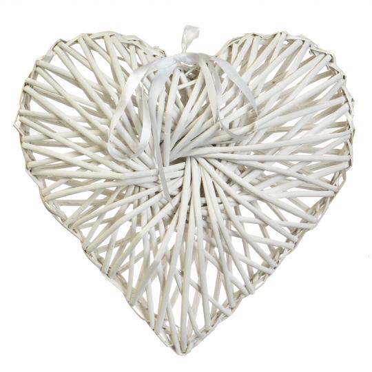 """Декор из лозы """"Плетёное сердце"""" 43*35 см (5002-004)"""