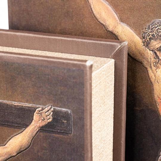 """Книга-шкатулка """"Распятие Иисуса"""" (33*22*7 см) (0897KSH)"""