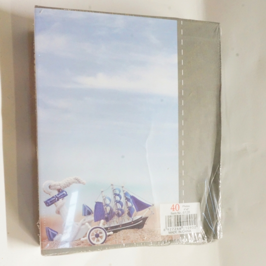 """Фотоальбом """"Море""""*рандомный выбор дизайна, мятый (00BR-8140-010/1)"""