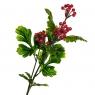 Ветвь калины с красными ягодами искусственная 66 см (8408-011)
