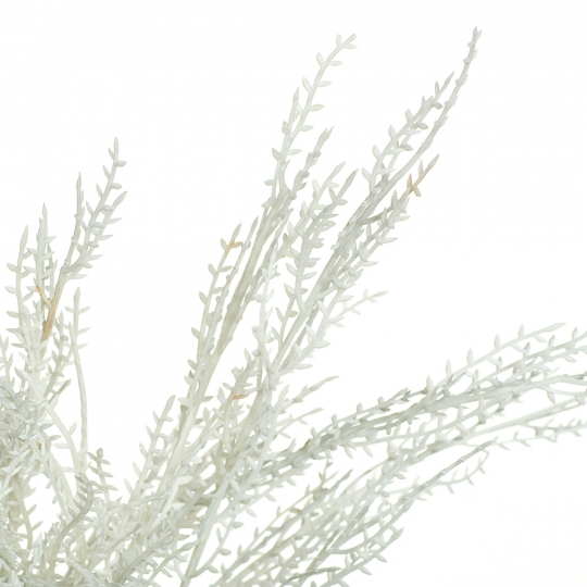 Ветвь кедра  пепельно-серая искусственная (8408-013)