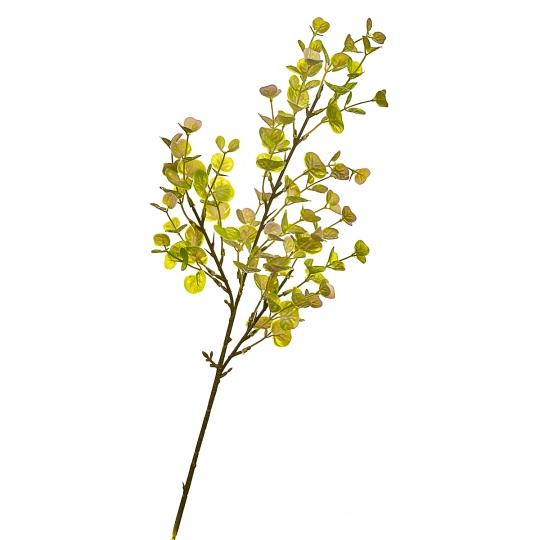 Ветвь эвкалипта лимонно-желтая искусственная (8408-026)