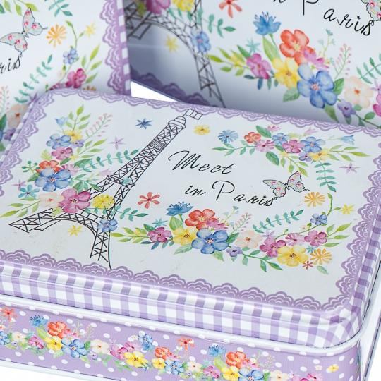 """Набор коробок """"Париж в цветах"""" (0269JA)"""