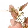 """Букет """"Сухоцвет с пастельно-розовыми листочками"""" (8114-024)"""