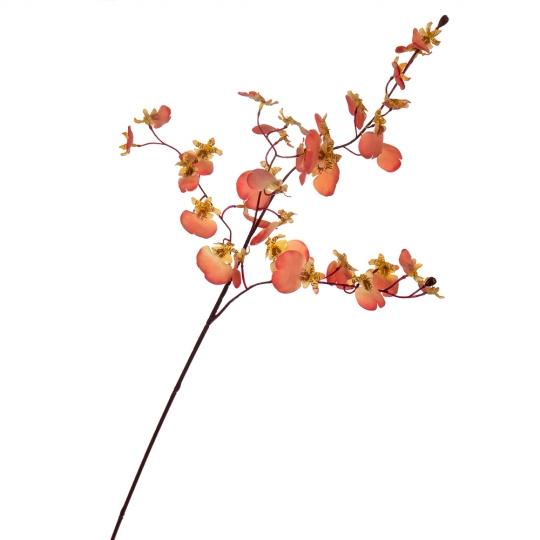 """Букет """"Тропические цветы"""" коралловые (8114-027)"""