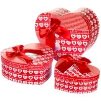 """Набор подарочных коробок 3 шт. """"Forever love"""""""