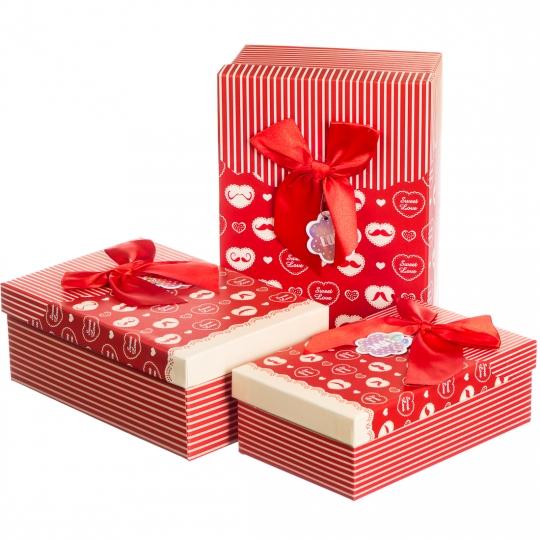 "Набор подарочных коробок 3 шт. ""Sweet Love"""