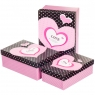 "Набор подарочных коробок 3 шт. ""Love"""