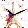 """Часы """"Письмо из Парижа"""" (29см) (002AL)"""