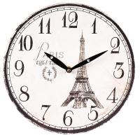 """Часы """"Счастье в Париже"""" (29см)"""