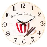 """Часы """"Горячий шоколад"""" (34см)"""