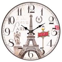 """Часы """"Путешестиве по Парижу"""" (29см)"""