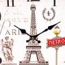 "Часы ""Путешестиве по Парижу"" (29см) (015AL)"